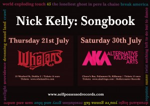 Nick Kelly Songbook July Poster
